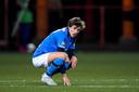 Jordan van der Gaag speelde dit seizoen op huurbasis bij Helmond Sport.