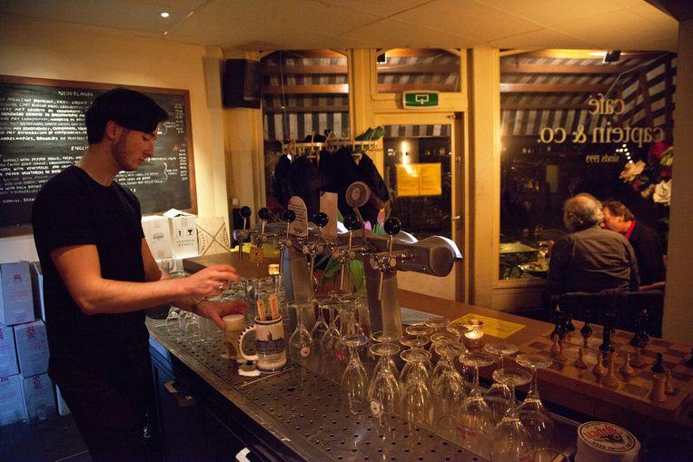 Café-restaurant Amsterdam op Watertorenplein Beeld Roï Shiratski