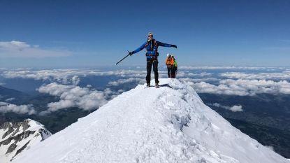 """Joni Ceusters (23) beklimt samen met vier andere Kamp Waes-overlevers de Mont Blanc: """"We deden het op één dag en dat is vrij uniek"""""""