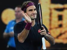 Federer oppermachtig tegen Krajinovic: 'Ik voel me wel een beetje schuldig'