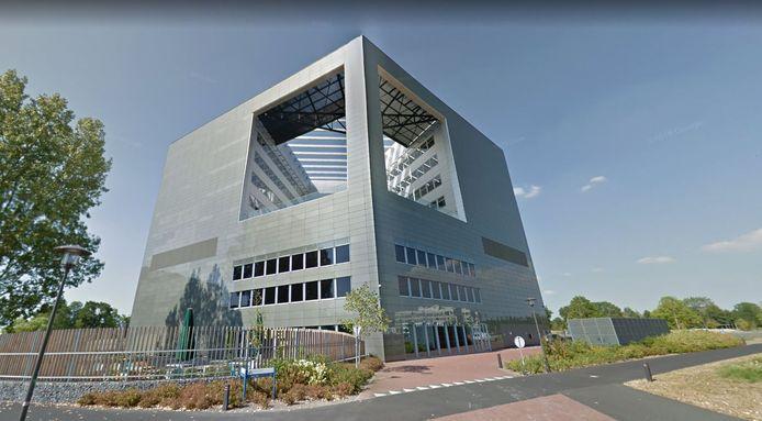 Het Orion-gebouw van de Wageningen Universiteit.
