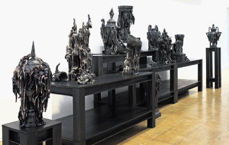 ¿Bright Solitude¿. ¿Ik wil de betrekkelijkheid van roem laten zien¿, verklaart Anne Wenzel. (FOTO'S STEDELIJK MUSEUM SCHIEDAM) Beeld