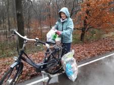 Lerares Marjon gaat zelf zwerfvuil te lijf in Groesbeek