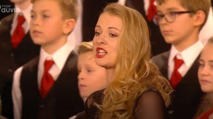 Louise is de ster in kerstconcert in koninklijk paleis
