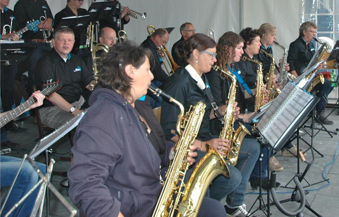 The Blue Band in actie.