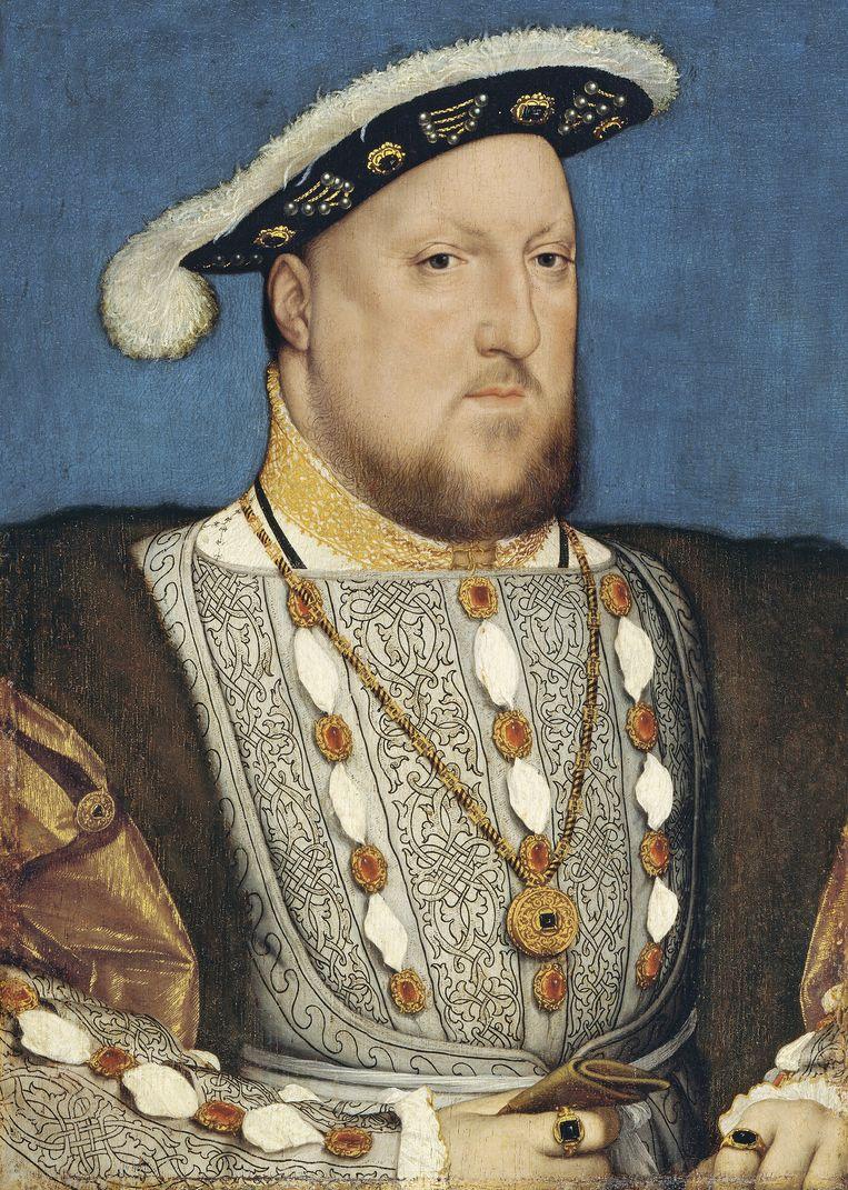 Hans Holbein de Jongere: Hendrik VIII, circa 1537. Museo Thyssen-Bornemisza, Madrid. Beeld Getty Images