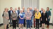 Lokaal bestuur ontvangt jubilarissen van augustus en september