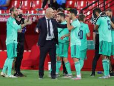 Zidane bijna weer kampioen met Real Madrid: 'We speelden geweldig'