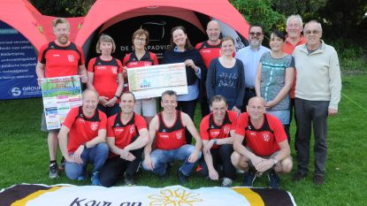 Olympic Essenbeek Halle steunt 'Kom op tegen Kanker'