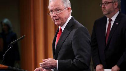 Trumps vroegere minister van Justitie kandidaat voor Senaat na ontslag vanwege rol in onderzoek Russische inmenging