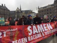 Honderden actievoerders demonstreren in Amsterdam tegen racisme