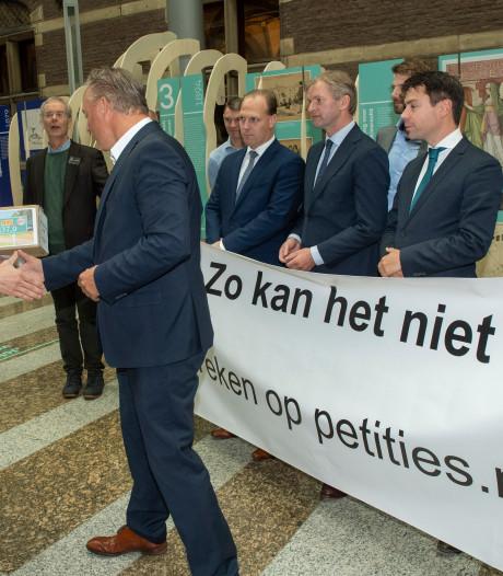 Sallandse dorpen langs N35 blijven trom roeren in Den Haag