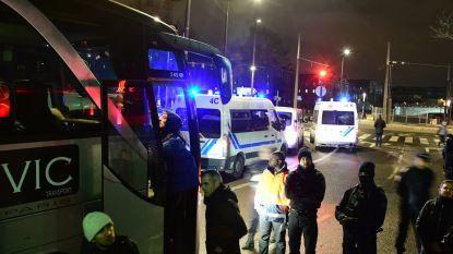 Franse politie ontruimt laatste migrantenkamp in noordoosten van Parijs