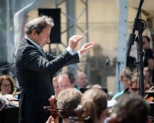 Het Philips Symfonie Orkest treedt op tijdens het Spanjaardsgat Festival