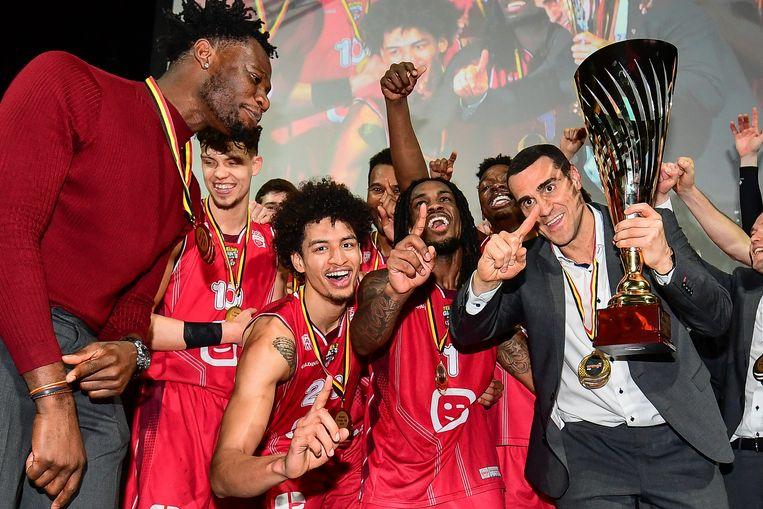 Vorig jaar won Antwerp Giants de Beker van België en ook dit jaar staan ze in de finale.
