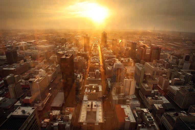Zonsopkomst in Johannesburg. Beeld EPA