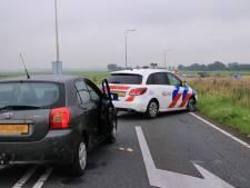 Betrapte inbrekers slaan op de vlucht, politieachtervolging eindigt op A28 bij Nijkerk