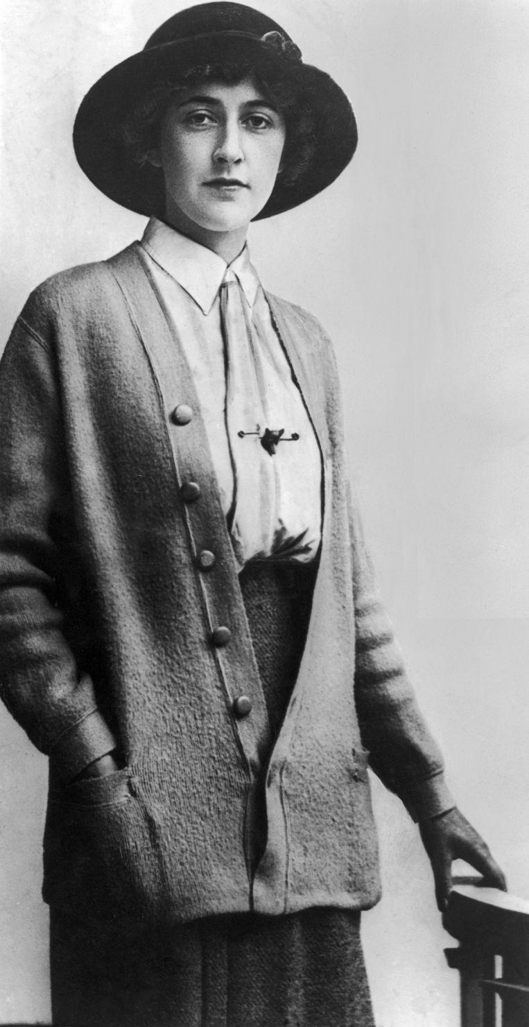 Agatha Christie in 1926. Beeld Getty