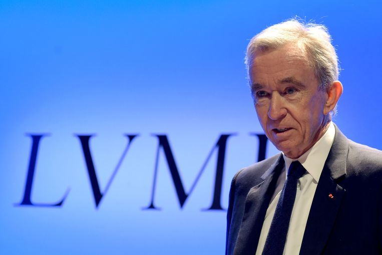 Topman van luxeholding LVMH Bernard Arnault