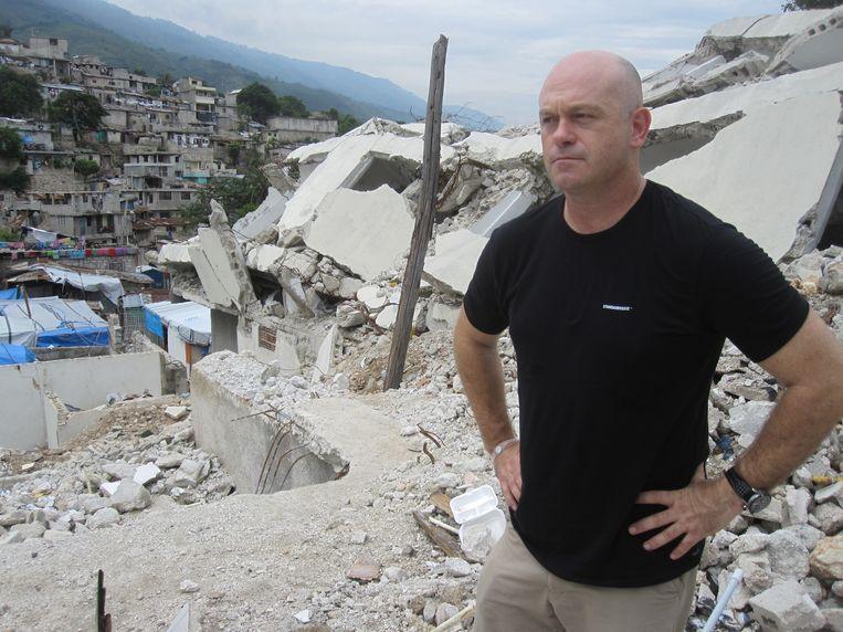 Ross Kemp, onderzoeksjournalist. Beeld -