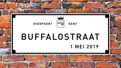 Overpoortstraat wordt op 1 mei Buffalostraat