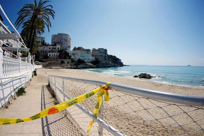 La plage de Cala Major, à Majorque