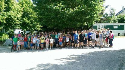 120 wandelaars voor een veilige fiets- en wandelroute