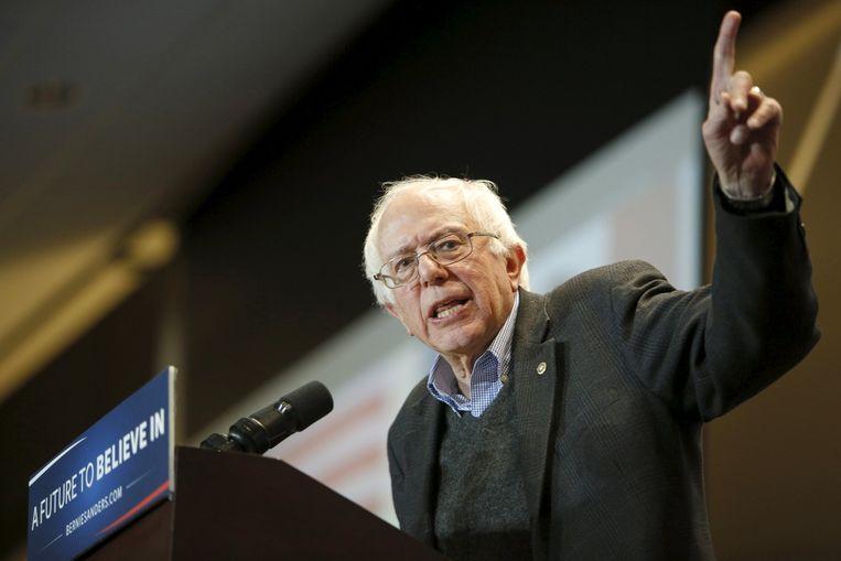Bernie Sanders. Beeld reuters