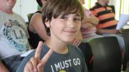 11-jarige Wout pleit voor 3D-zebrapaden