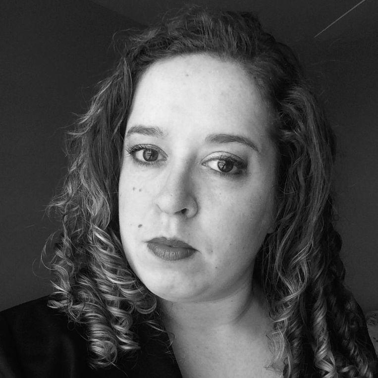 Adinda Veltrop, lead organizer van Women's March Amsterdam. Beeld Prive