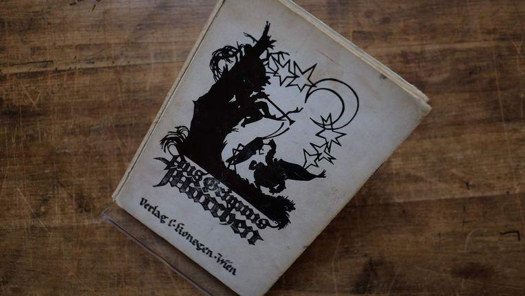 Het geveilde sprookjesboek.