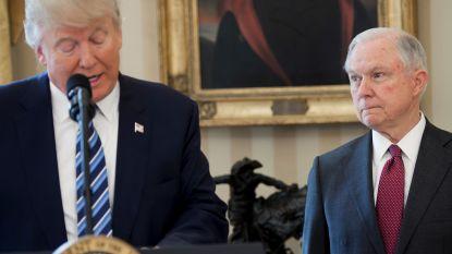 """Trump valt Sessions opnieuw aan: """"Ik heb geen minister van Justitie. Het is erg droevig"""""""