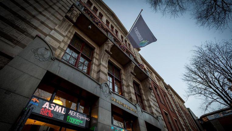 Het Amsterdamse beursgebouw Beeld anp