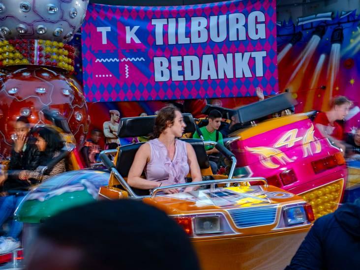 Exploitanten zijn dik tevreden over Tilburgse kermis: 'Dit was voor nu de ideale vorm'