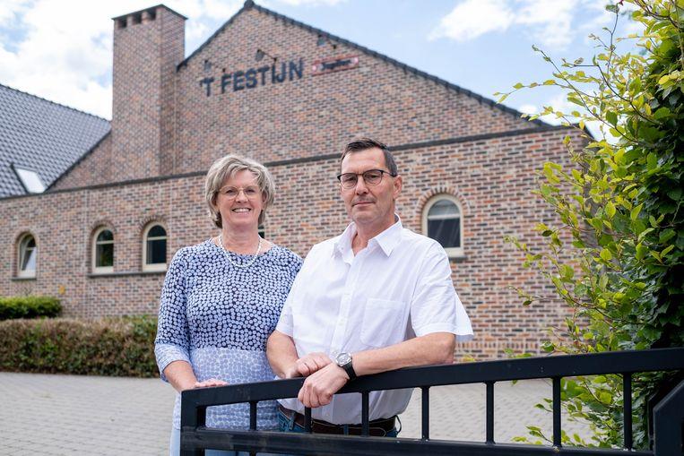 Luc Sterckx en Marleen Wuyts baten Feestzaal 't Festijn in Beerzel uit