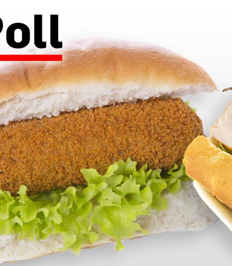Een broodje gezond of een broodje kroket in de voetbalkantine?