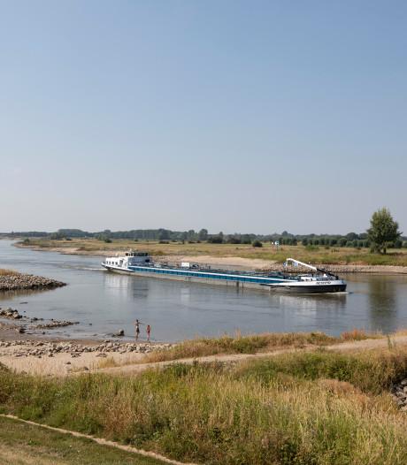 Schippers mijden groot deel van gevaarlijke IJssel