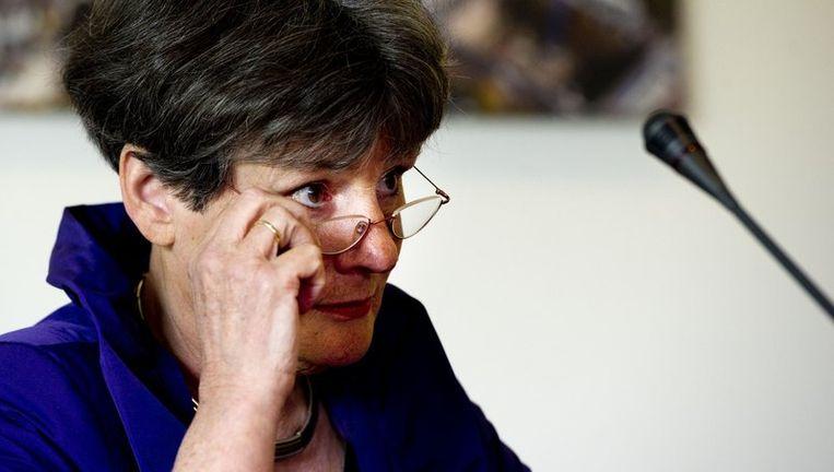 Commissievoorzitter Louise Gunning-Schepers. Beeld anp