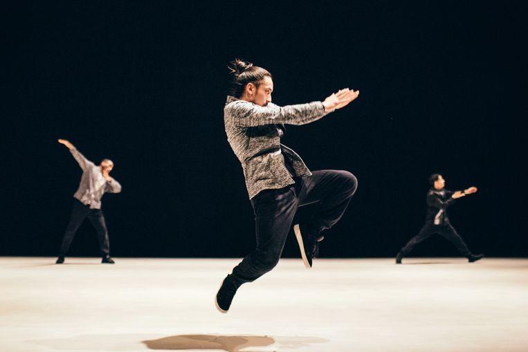 Kata door Compagnie par Terre/choreografe Anne Nguyen Beeld Homard Payette