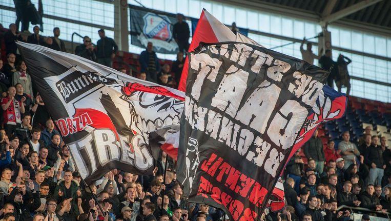 Supporters of FC Utrecht Beeld photo_news