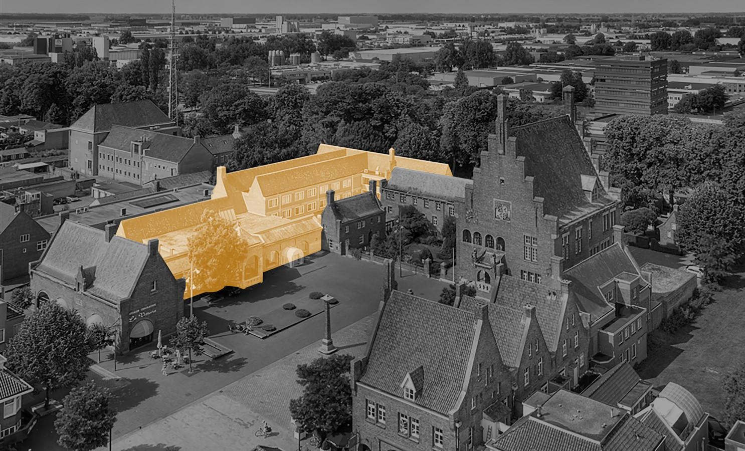 Het nieuwe schoenenmuseum in Waalwijk opent, volgens de plannen, in februari 2021 in het voormalige gemeentehuis van Waalwijk.