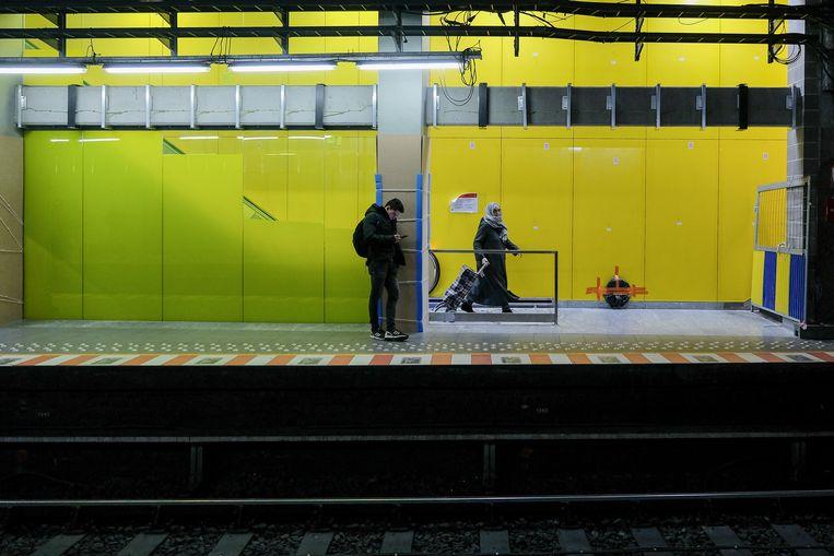metro Brouckère