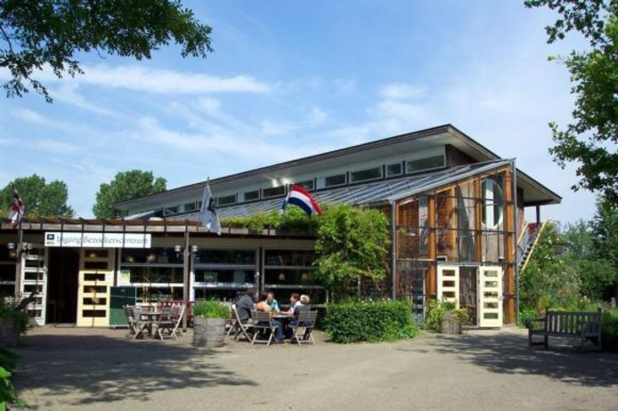 Het huidige bezoekerscentrum van de Kleine Aarde in de Brabantse gemeente Boxtel. foto De Kleine Aarde/GPD