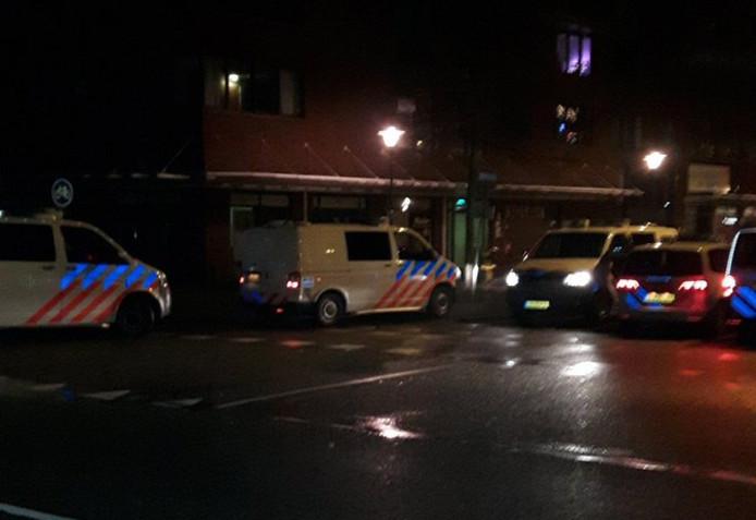 Er was veel politie op de been voor de vechtpartij in Vlissingen.