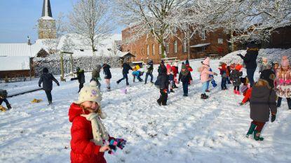 Sneeuwpret in VBS Sint-Katrien