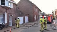 Verwarmingsinstallatie defect na brand op zolder van achterbouw