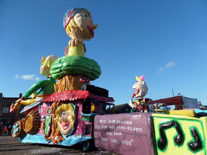 Carnavalsoptocht Dussen.