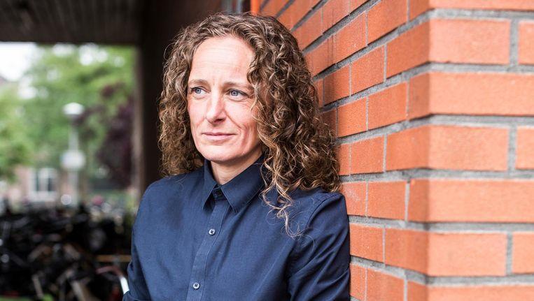 Alexandra van Delft: 'Het is toch het toppunt van feminisme dat je als vrouw naar een vrouwelijke sekswerker kunt?' Beeld Eva Plevier