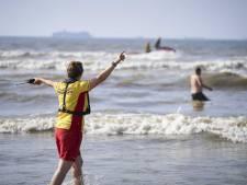 Reddingsbrigade waarschuwt ook vandaag voor gevaarlijke zee: 'Ga niet dieper dan tot de knieën!'