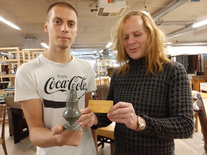 Peter (r) en Jordi de Leeuw van Wawollie.